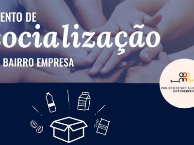 SOCIALIZAÇÃO: grupos se unem e realizam ação social conjunta no bairro Empresa em Taquara