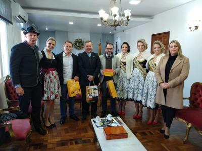 Chefias de Órgãos Estaduais de Segurança Pública recebem convite para a 31ª Oktoberfest de Igrejinha