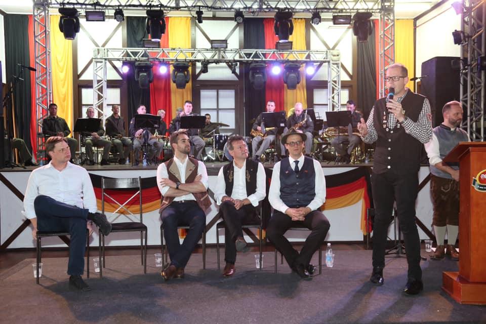 Abertura oficial da 32ª Oktoberfest