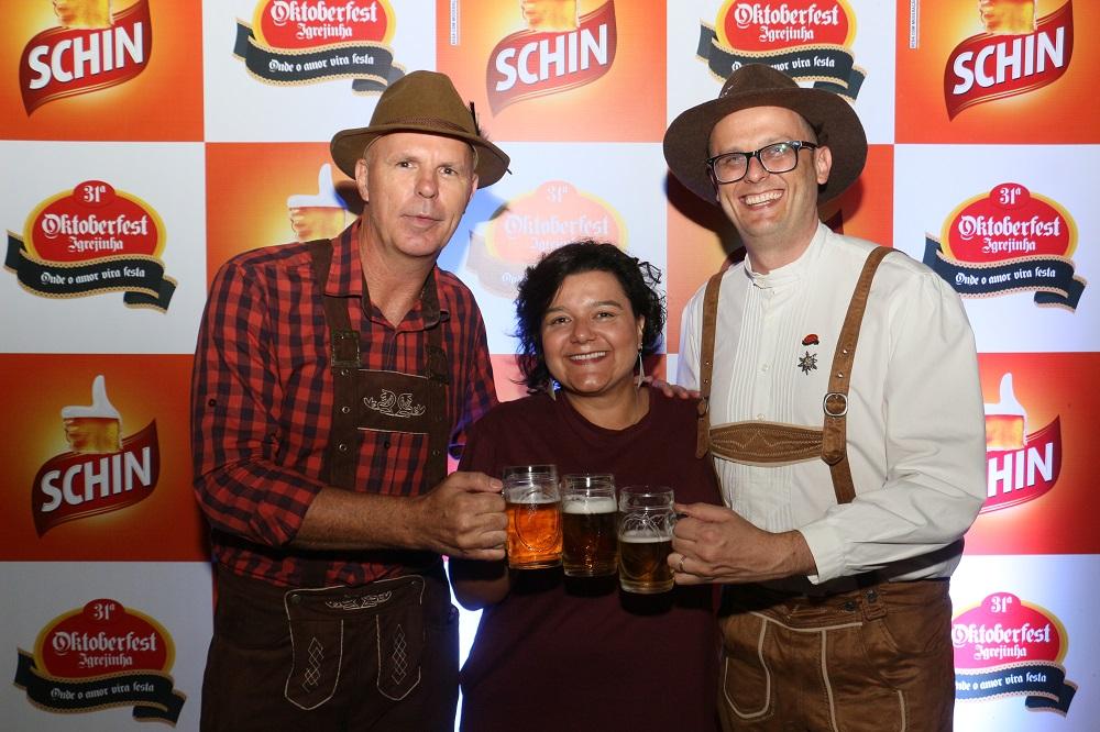 Schin é a cerveja oficial da Oktoberfest de Igrejinha