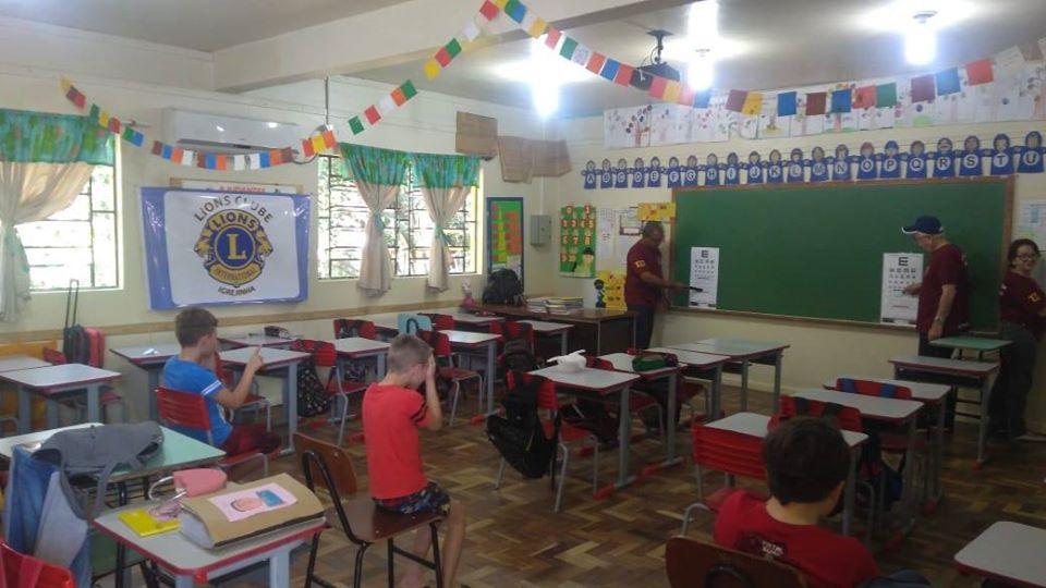 SOCIALIZAÇÃO: Lions Igrejinha realiza triagem de visão em escolas públicas