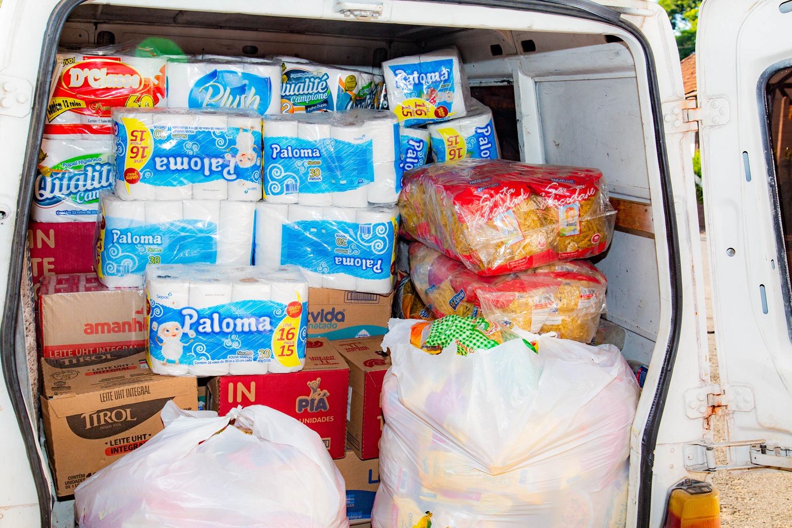 AMIFEST beneficia mais de 20 entidades com doação de alimentos