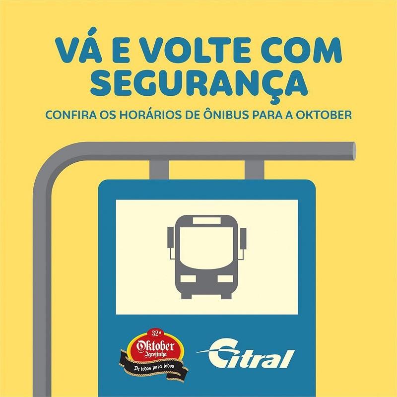 Citral disponibiliza linhas exclusivas de ônibus saindo de 10 cidades da região