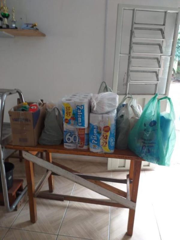 SOCIALIZAÇÃO: Nosso Lar realiza doação e integração no Centro de Reabilitação Vida Plena