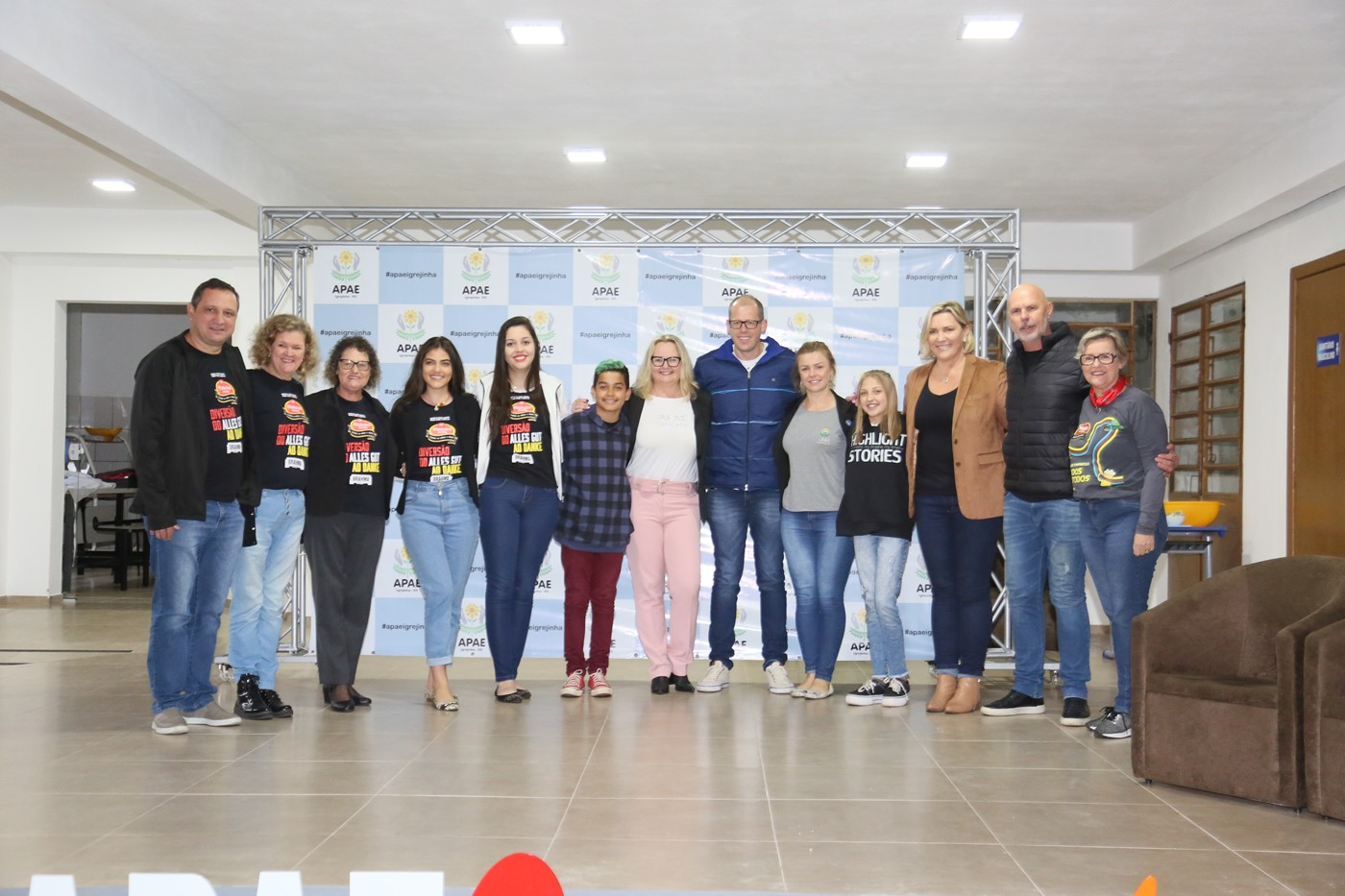 APAE de Igrejinha inaugura novas instalações com valores repassados pela Oktoberfest