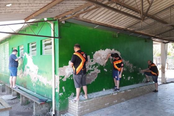 SOCIALIZAÇÃO: ABM CLUB realiza revitalização de Escola Estadual em Igrejinha