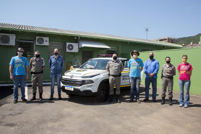 Brigada Militar adquire viatura e diversos equipamentos com recursos repassados pela AMIFEST