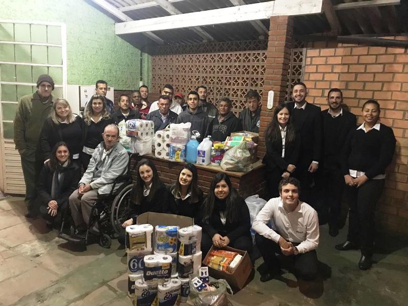 SOCIALIZAÇÃO: pedágio do Sicoob Ecocredi enche carrinhos de cooperação e solidariedade