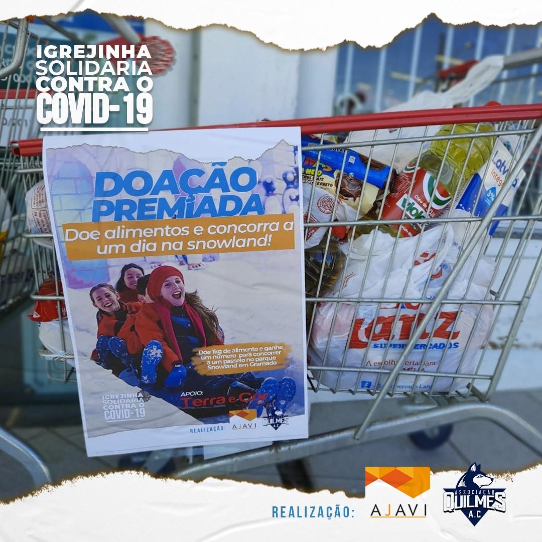 Vitrine do Bem: campanhaIgrejinha Solidáriabeneficia famílias em situação de vulnerabilidade social